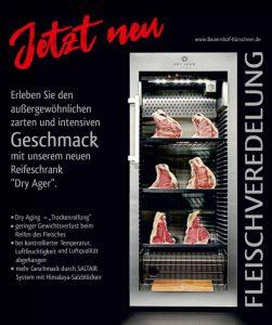 Rindfleisch aus unserem DryAger - im Hofladen des Bauernhof Kürschner